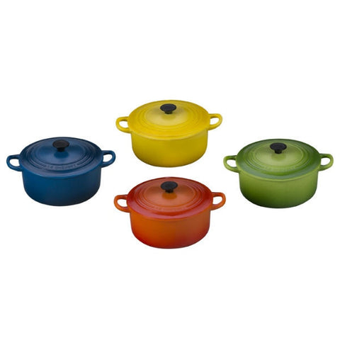 Le Creuset - Set Of 4 Multicolor Magnets