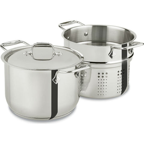 All-Clad Stainless Steel Pasta Pot - 6 Qt
