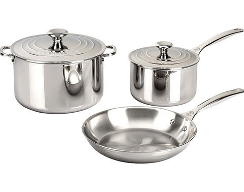 Le Creuset Stainless 5 Piece Set
