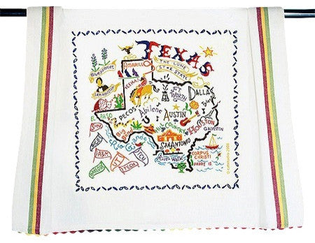 Catstudio Dish Towel Texas