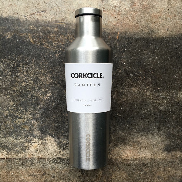 Corkcicle Canteen 16 oz Stainless Steel