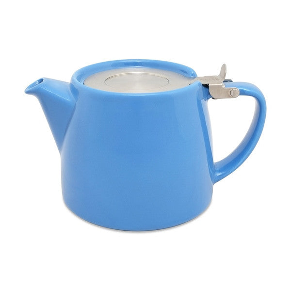 ForLife STUMP TEAPOT 18 OZ BLUE