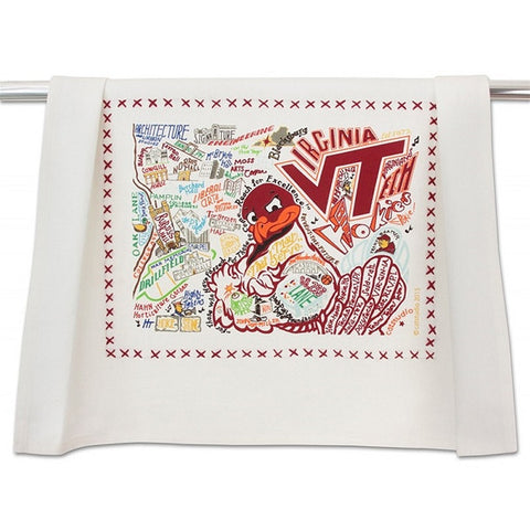 Catstudio Dish Towel VA Tech