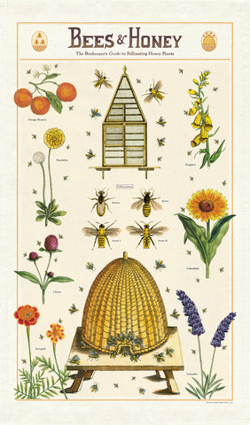 Cavallini & Co. Tea Towel - Bees