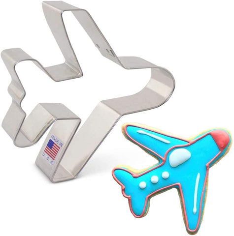 Ann Clark Airplane Cookie Cutter