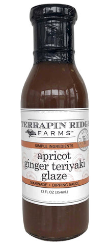 Terrapin Ridge Farms Apricot Ginger Teriyaki Glaze