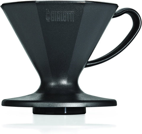 Bialetti 2-Cup Pour Over Coffee Maker - Black