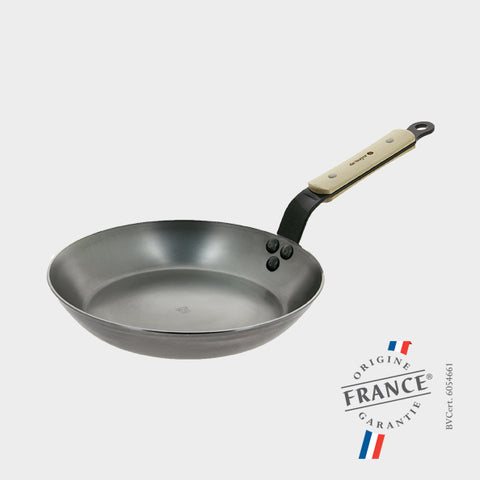 "de Buyer Mineral B Bois Carbon Steel - 9.5"" Fry Pan"