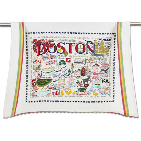 Catstudio Dish Towel - Boston
