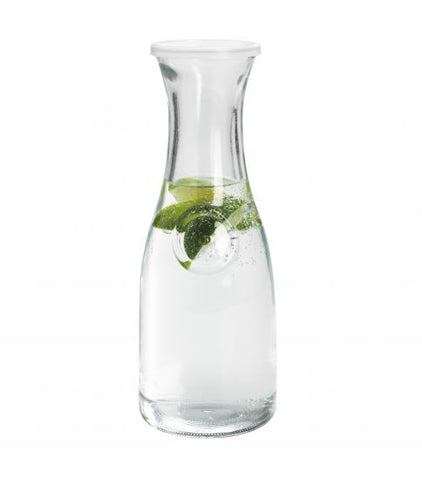 Anchor Hocking Carafe with Lid - 1 Qt.
