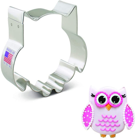 Ann Clark Cute Owl Cookie Cutter