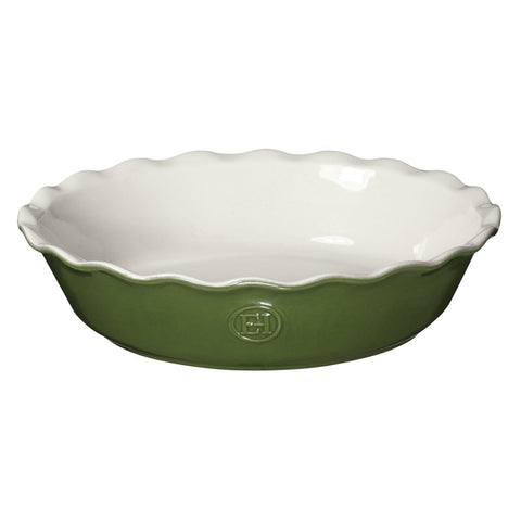 "Emile Henry Pie Dish 9"" Spring"