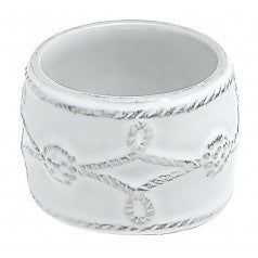 Juliska B&T Napkin Ring - White