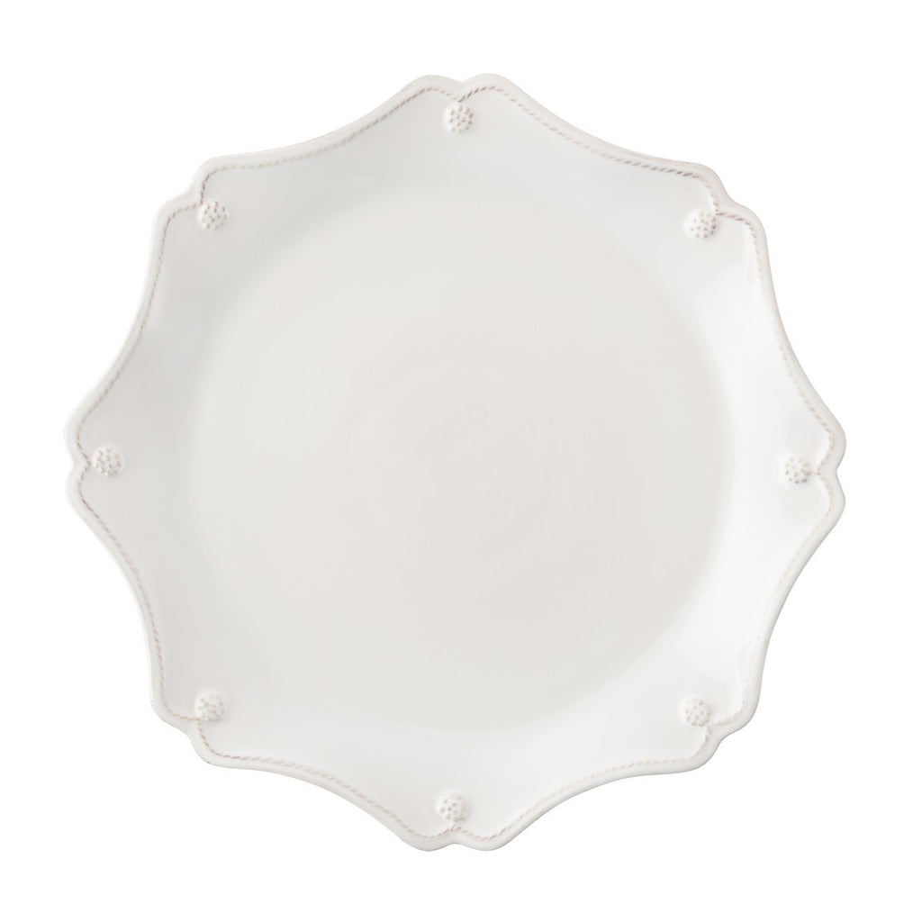 Juliska B&T Scallop Charger - White