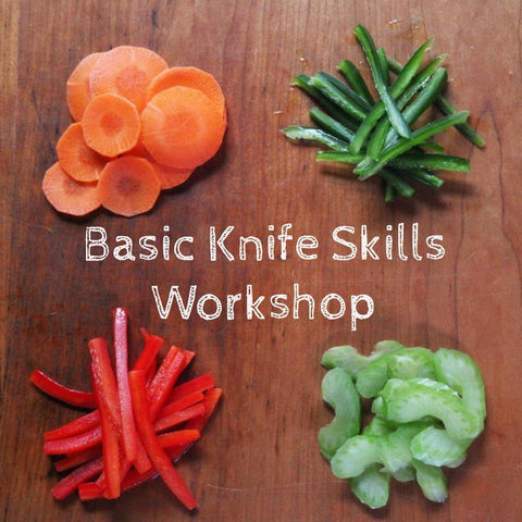 Basic Knife Skills (Live Streaming)
