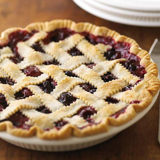Mixed Berry Pie with Lattice (Hands-on)