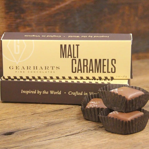Gearharts Chocolate Malt Caramels