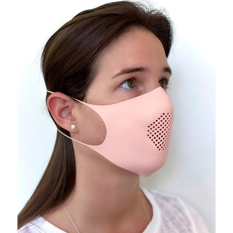 GIR Large Silicone Face Mask Kit - Peach