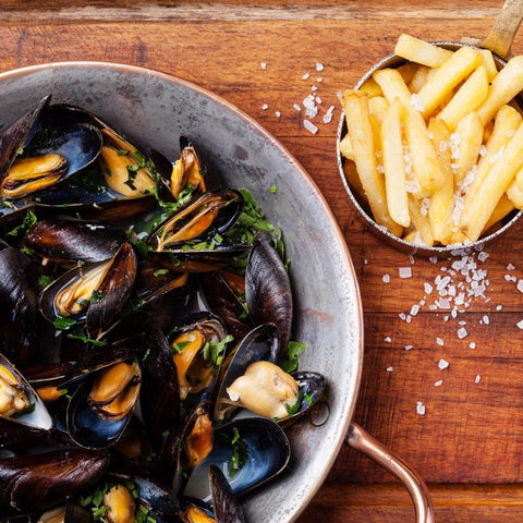 Moules Frites (Virtual w/Local Groceries)