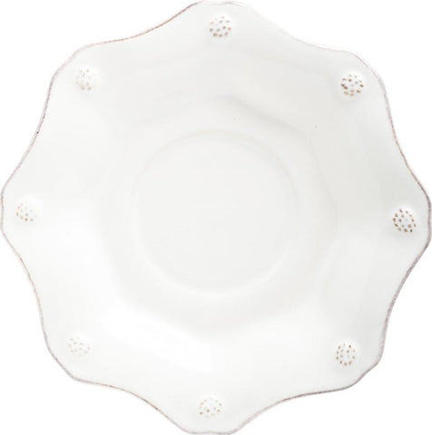 Juliska Berry & Thread Scallop Saucer - White