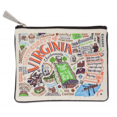 Catstudio Zippered Pouch - UVA