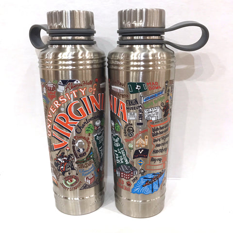 Catstudio Stainless Steel Water Bottle - UVA