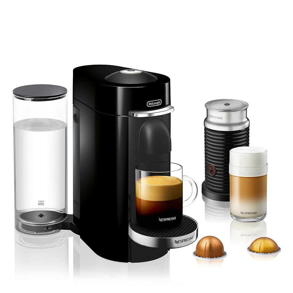 Nespresso Vertuo Plus Deluxe Bundle - Black
