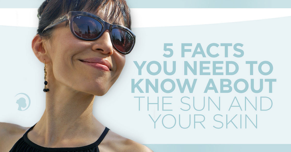 5 Facts You Need To Know About The Sun and Your Skin - Plus, The Key Ingredient Your Delicate Skin Needs
