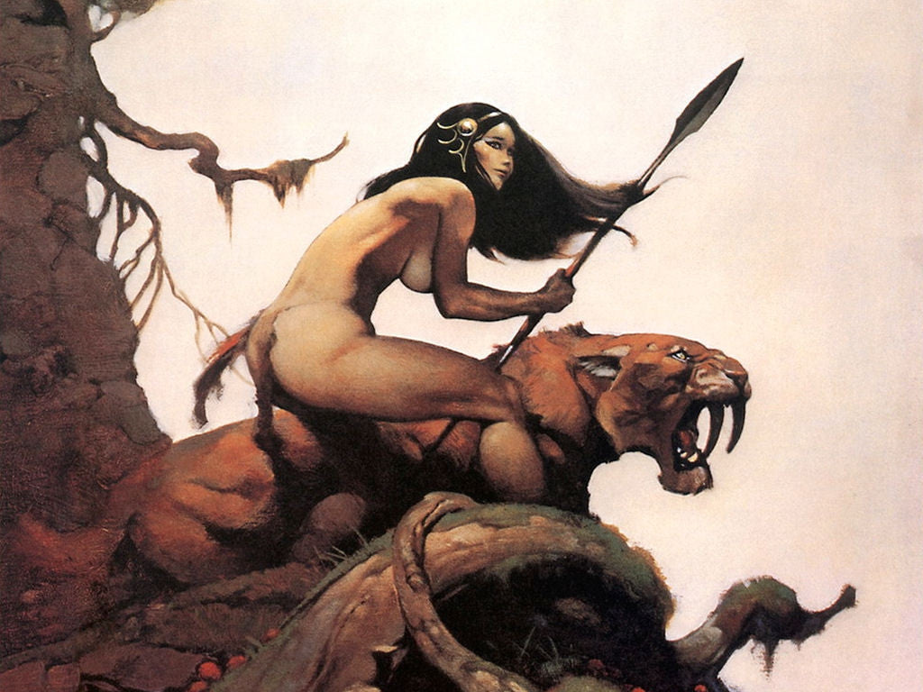 Artist Spotlight: The Fantastic Flight of Frank Frazetta