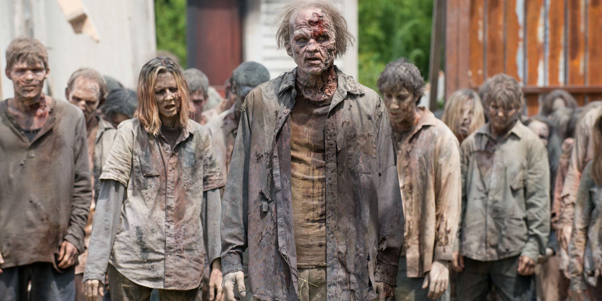 What the Hell is going on with the Walking Dead?
