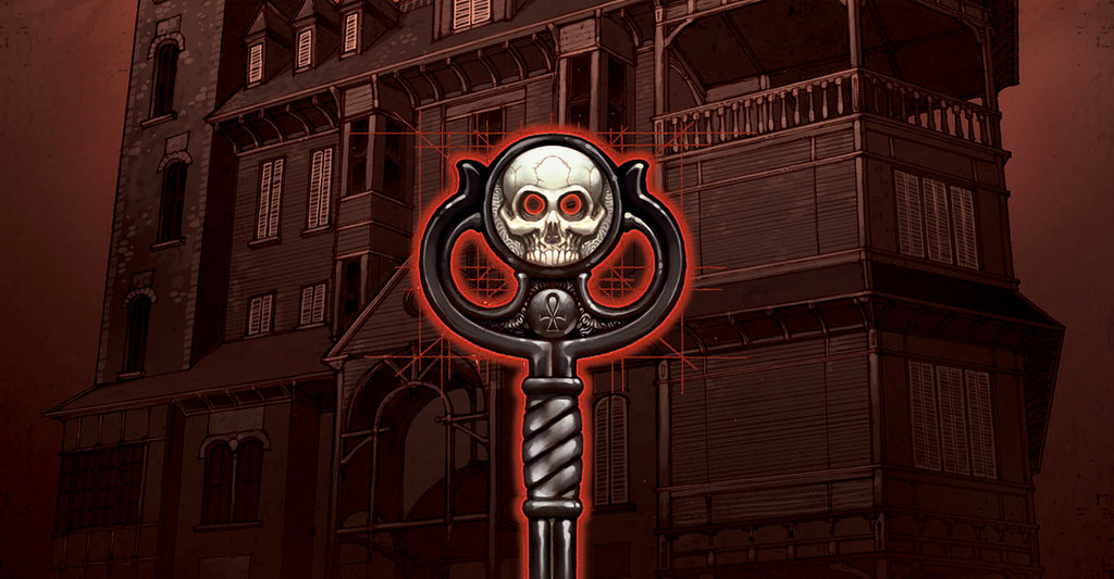 Enter Comics with Locke and Key
