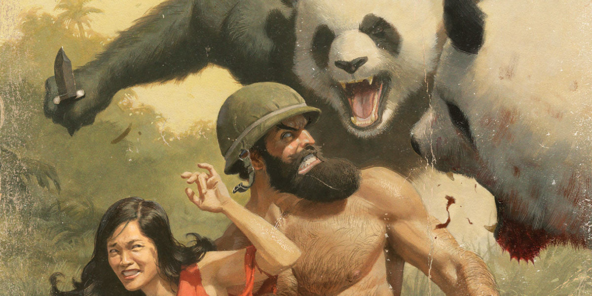 Bear Brawls and Shirtless Antics
