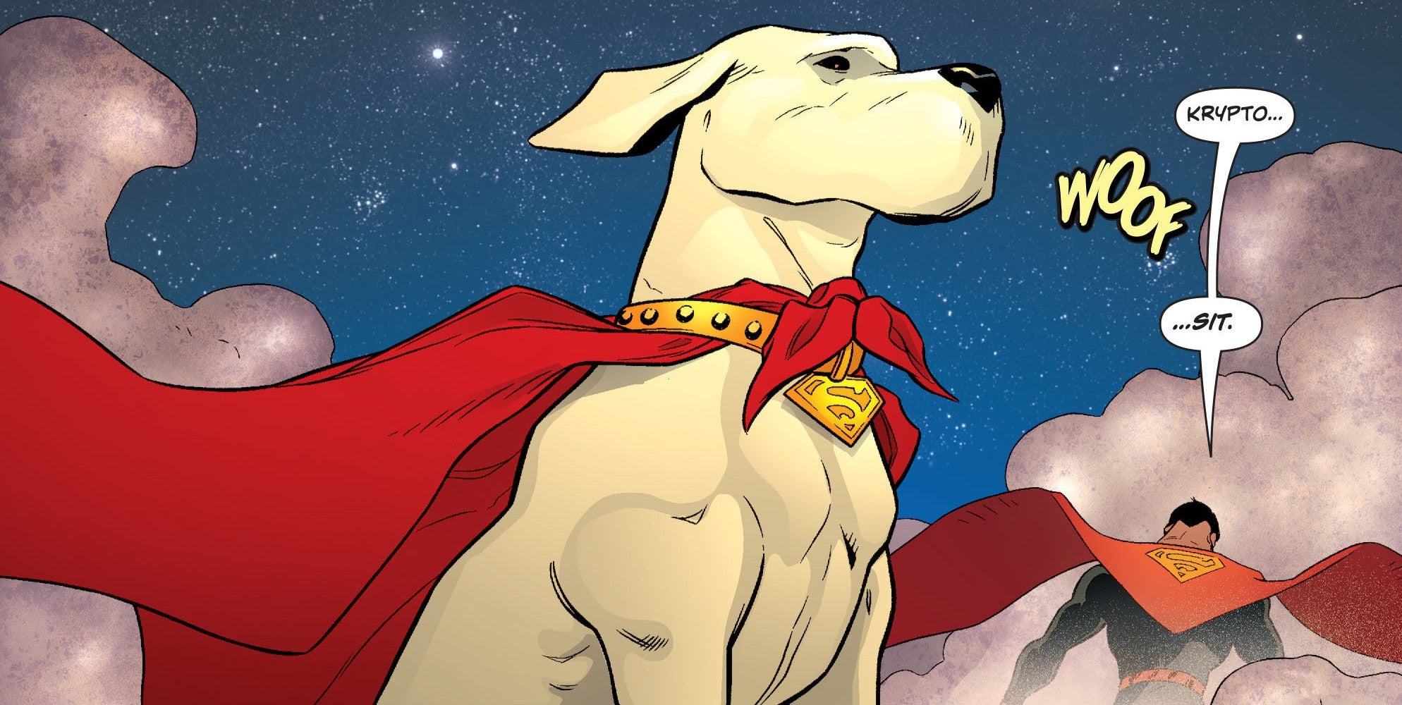 Krypto!  The Superdog