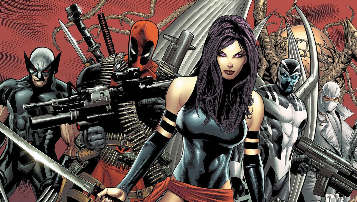 Chartacter Spotlight: X-Force