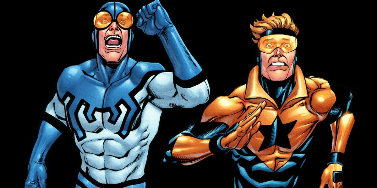 Character Spotlight: Blue Beetle & Booster Gold - Upcoming WB Movie
