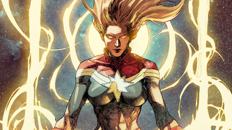Checking Out Captain Marvel