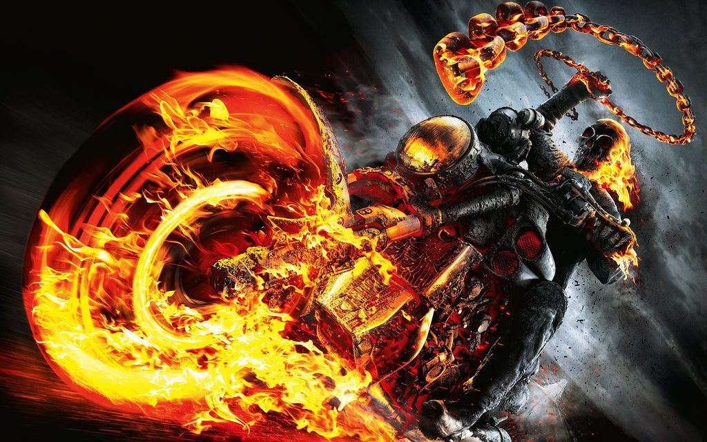 Chains and Hellfire: Ghost Rider