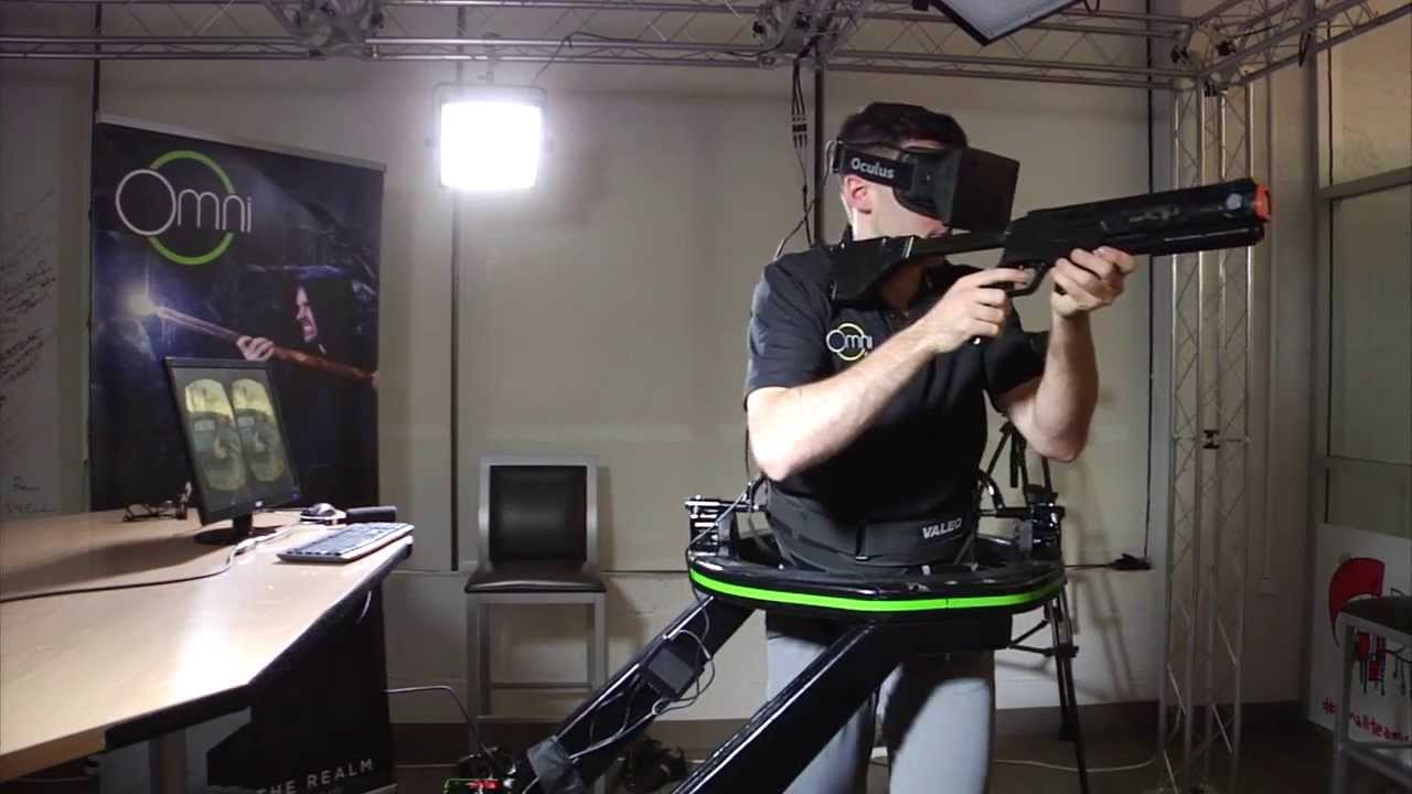 VR Gaming: this S&*% is the Future!