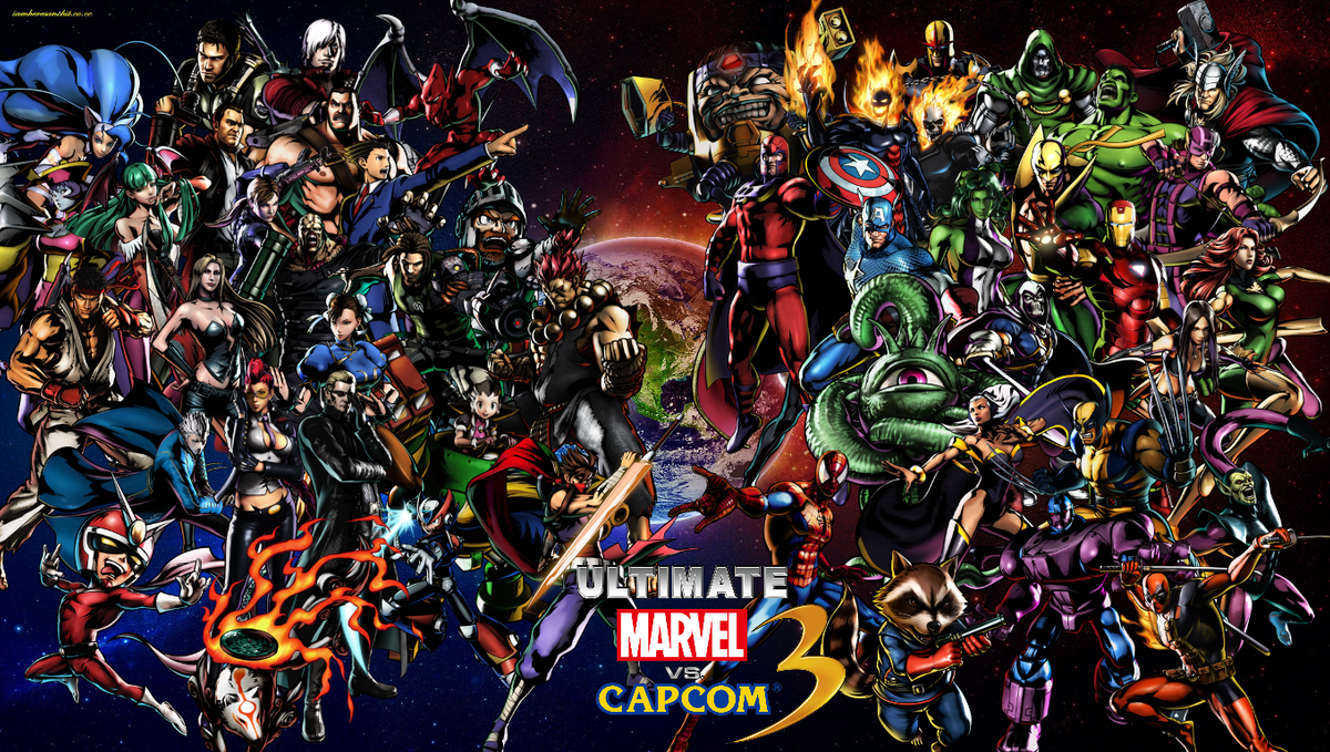 The Crossover Classic that is the Marvel vs. Capcom Franchise