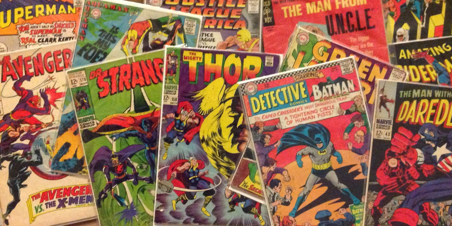 The Stigma Behind Buying Comic Books