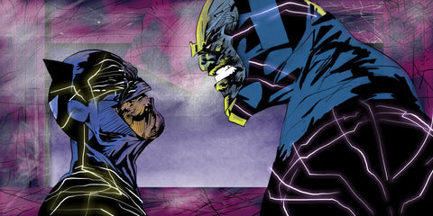 Batman vs Darkseid