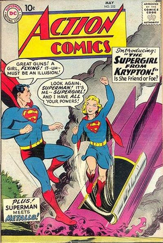 Action Comics 252 Supergirl