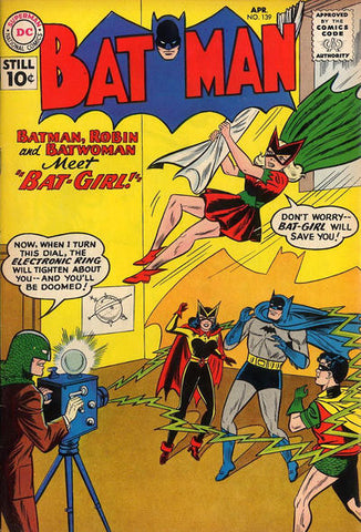 Batgirl first appearance