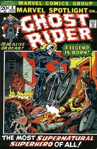 Ghost Rider 1st Comic