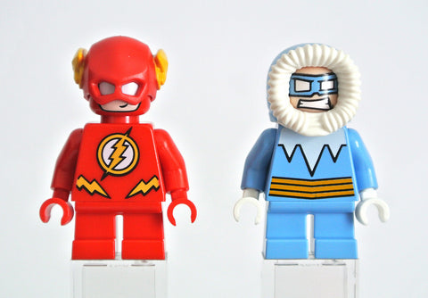 Captain Cold and The Flash