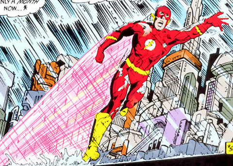The Flash Crisis on Infinite Earths