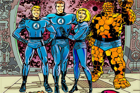 Fantastic Four Jack Kirby