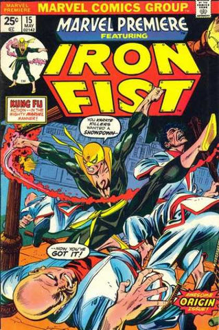 Iron Fist 1st Appearance