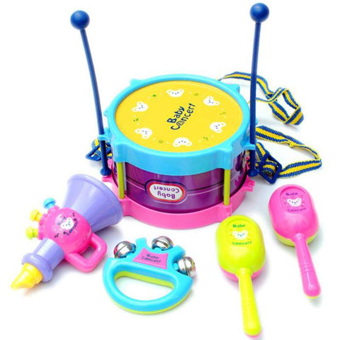 5 Pieces Musical Instrument Band Kit - Value Grabs