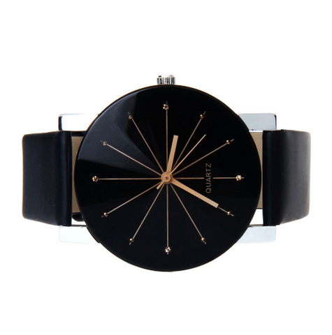 Men's Ebony Quartz Fashion Watch - Value Grabs